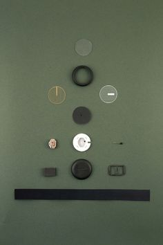Components of the Hatch Watch by Catherine Stolarski Design