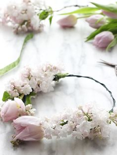 Lovely Easter Spring Happy amifully ! #TheCraftyHen #FlowerCrown #Inspiration