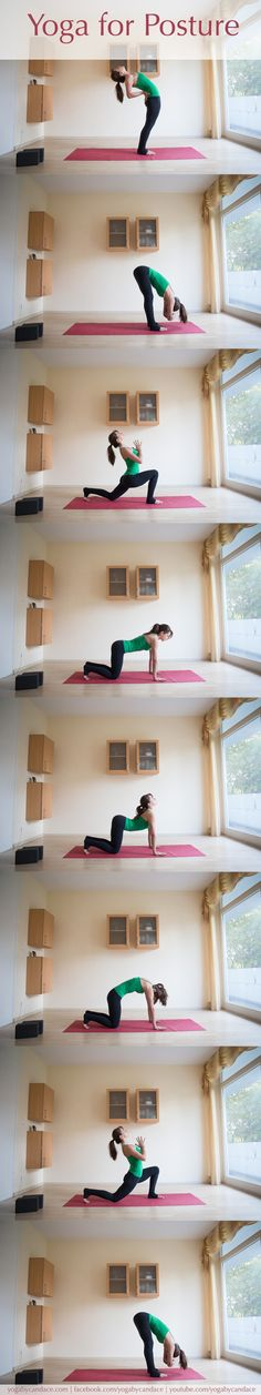 Let's correct the poor postures in 10 minutes a day! It's easier and more effective than you thought. bad posture fix desks Ashtanga Yoga, Vinyasa Yoga, Posture Fix, Better Posture, Bad Posture, Posture Stretches, Yoga Fitness, Sport Fitness, Fitness Workouts
