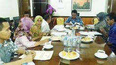 Wakil Bupati Sumbawa, H. Mahmud Abdullah, melakukan pertemuan dengan Direktur Jenderal Perlindungan dan Jaminan Sosial (Linjamsos)