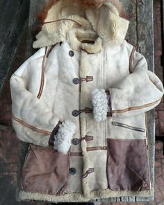 WWII USAAF Jacket Type B 7 White Sheepskin Parka Alaskan Suit