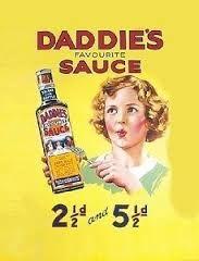 Image result for vintage sauce advert