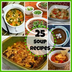 25 Comforting Soup Recipes #recipes #soup