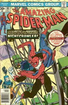 For sale marvel comics amazing spiderman 161 nightcrawler wolverine colossus x-men punisher comic book 1976 jack davis artwork emorys memories. Marvel Comics, Marvel Comic Books, Comic Books Art, Comic Art, Marvel Vs, Marvel Heroes, Comic Superheroes, Punisher Marvel, Marvel Characters