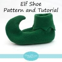 Elf Shoe Pattern and Tutorial - Schuh Basteln Buddy The Elf Costume, Diy Elf Costume, Munchkin Costume, Costume Halloween, Costume Lutin, Christmas Sewing, Christmas Crafts, Christmas Gnome, Elf The Musical