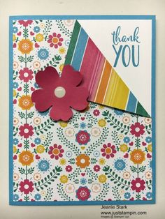 Welcome to the ABC's with DSP! This month I am featuring projects showcasing Stampin' Up! Designer Series Paper. Today I am using the Festive Birthday Designer Series Paper to make 5 cards and env…