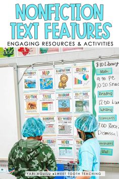 Transform your classroom into a surgery center while teaching text features! Help your elementary students to interpret text features and understand why they are included in the text while having fun in an operation room! These text feature activities are perfect for your 2nd, 3rd, and 4th grade students. Learn more here on how to set up your room and engage your students with hands on text feature activities! Literacy Activities, Teaching Resources, Nonfiction Text Features, Surgery Center, A Classroom, Sixth Grade, Upper Elementary, Guided Reading, Sweet Tooth