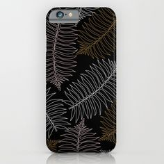 New In Store Jungle LEaf Black Phone Case 20% Off Plus Free Shipping Worldwide Today!