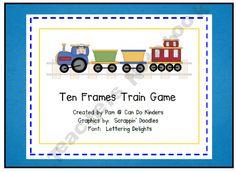 Tens Frame Train Game