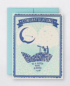 Match Made in Heaven (Congratulations Wedding Card)  - Hello!Lucky card