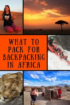 What to Pack for Backpacking in Africa