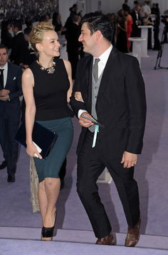 Carey Mulligan and Marcus Mumford. They're becoming my favorite couple so quickly. They're adorable together!