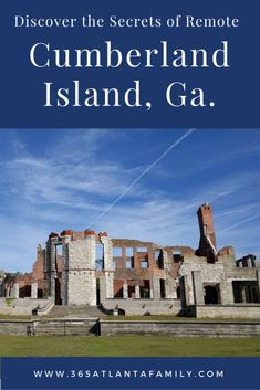 Cumberland Island is a unique oasis off the coast of Georgia. Mostly pristine park land, Cumberland has feral horses, lush maritime forests & a rich history. Georgia Islands, Jekyll Island Georgia, Cumberland Island Georgia, Travel Usa, Solo Travel, State Parks, Family Travel, Places To See, Travel Destinations