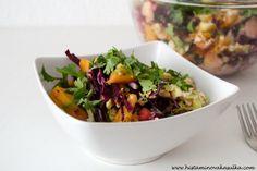 Sladký zimní zelný salát