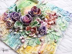 "Handmade by Yulianna: Collage ""Summer"""