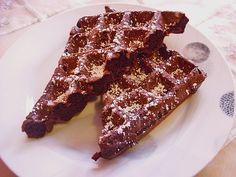 Schokoladen - Brownie - Waffeln, ein sehr schönes Rezept aus der Kategorie Kekse & Plätzchen. Bewertungen: 9. Durchschnitt: Ø 4,2.