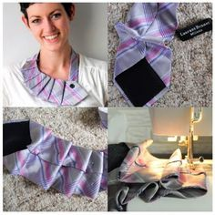 I always see cute ties at thrift stores that I don't know what to do with. I love this idea!