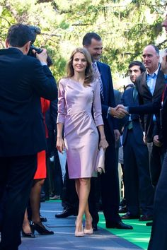 Princess Letizia - Spanish Royals Attend 'StartUp Competition' Awards