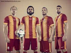 Galatasaray 2014/2015 Nike Home kit