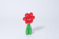 Flor Vermelha   A Loja do Gato Preto   #alojadogatopreto   #shoponline