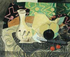 Georges Braque (1882 - 1963), Nature morte aux cerises.