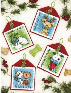 Pet Ornaments (Christmas) - Cross Stitch Kit