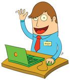 http://www.bubblews.com/news/2410269-it039s-hard-to-write-when-the-site-is-down blogger, happy blogger, cartoon blogger