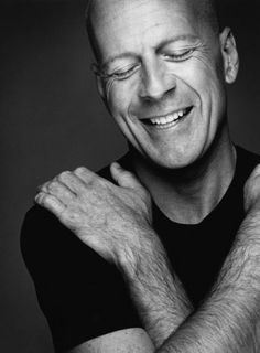 Bruce Willis     *  RED  *  Die Hard  *  Pulp Fiction  *  The Fifth Element  *  Planet Terror  *  Sin City