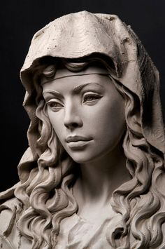 Stone Sculptures, Full Figure Portrait Sculpting by Philippe Faraut -