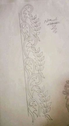 Border Embroidery Designs, Bead Embroidery Patterns, Embroidery Suits Design, Hand Work Embroidery, Quilting Designs, Machine Embroidery, Zardozi Embroidery, Silk Ribbon Embroidery, Crewel Embroidery