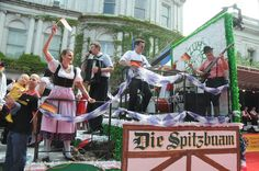 """Photo of German-American Steuben Parade - New York, NY, United States. """"Die Spitzbuam"""" from """"Little Germany"""" in Queens, NY"""