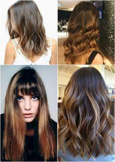 Morenas Iluminadas - inspirações para clarear seu cabelo.