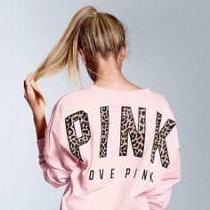 Victoria's secret PINK sweatshirt yes please but in teal Victoria Secret Outfits, Victoria Secret Rosa, Victoria Secrets, Vs Pink, Pink Love, Pink Outfits, Cute Outfits, Pink Nation, Pink Brand