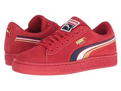 0add71cdc450 Puma Kids Suede Classic Multicolor Embossed (Big Kid) at Zappos.com