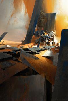 ArtStation - Wind coming, Ruxing Gao