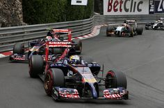 Jean-Eric Vergne (FRA) Scuderia Toro Rosso STR9. Formula One World Championship, Rd6, Monaco Grand Prix, Race, Monte-Carlo, Monaco, Sunday, 25 May 2014