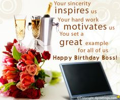 Best Yellow Greetings Birthday Wishes For Boss Happy Quotes Quotesgram And Golfian