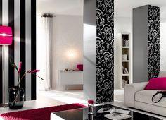 дизайн обоев в гостинной - Поиск в Google