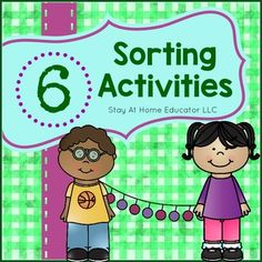 This pack of six sorting activities are designed with preschoolers, kindergarten and first graders in mind. Featuring so much more than just color sorting, children learn and practice six different sorting skills.Here's what's included:~ Color Theory Sorting~ Basic Color Sorting ~ Which One is Different?~ Healthy vs.