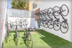 outdoor bike parking