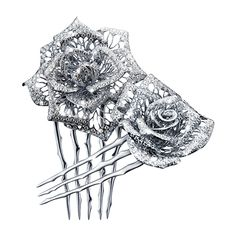 "TASAKI BRIDAL ""belle bouquet"" petals created by TASAKI's Creative Director, Thakoon Panichgul http://www.tasaki-global.com/bridal/"