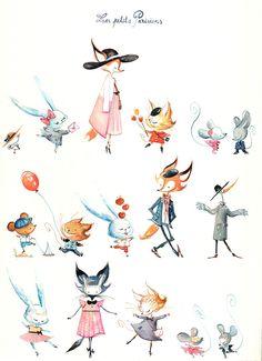 Agnès Ernoult, Illustrator for Childrens Books