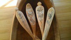 Woodcarving Notes: Kolrosing