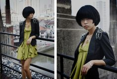 HOT -  Lin Lin, 24, designer from Shanghai http://lookbook.nu/look/242186-nice-day