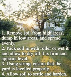 1000 ideas about leveling yard on pinterest french