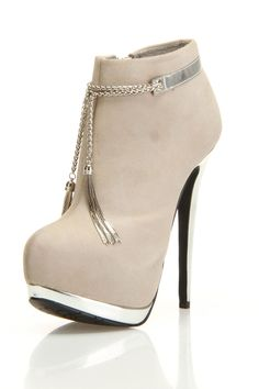 Dereon Sofia Heel Booties In Sand