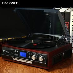 Vinyl Records Turntable Player