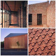 terracotta walls architecture - Google Search
