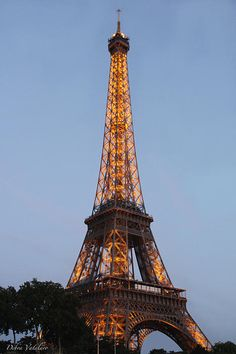 EIFFEL TOWER LIGHTS > DESIGN PHOTOGRAPHY