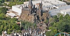 The Wizarding World of Harry Potter in California.